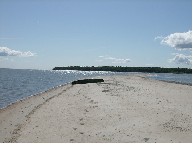 Beach at Elk Island
